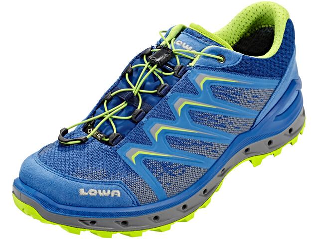 Lowa Aerox GTX Low Shoes Men royal/lime